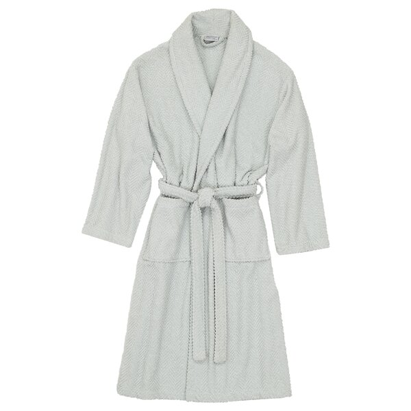 Huguetta Weave 100% Cotton Bathrobe by The Twiller